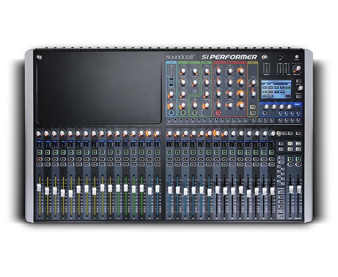 SoundCraft Si Performer 3 : Bàn Mixer kỹ thuật số
