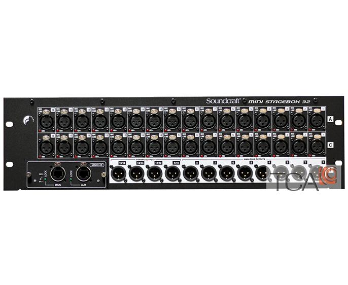 Soundcraft Mini Stagebox 32C5 : Bàn trộn