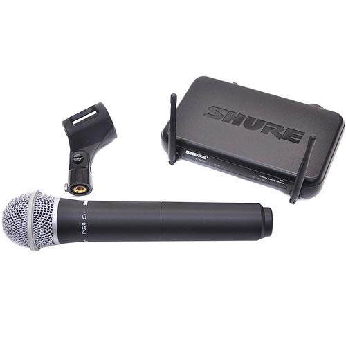 Bộ thu và micro không dây cầm tay Shure SVX24/PG28