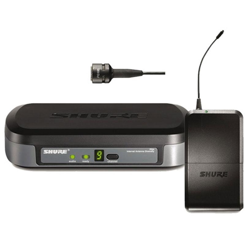 Bộ thu và phát cầm tay kèm micro không dây cài áo Shure PG14/PG185