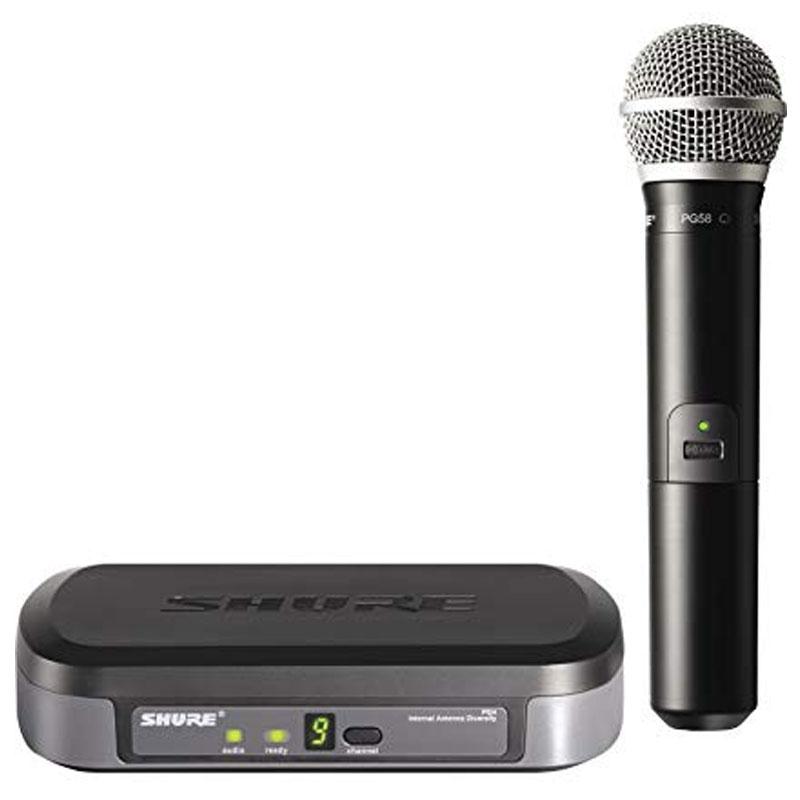 Bộ thu và phát kèm micro không dây cầm tay Shure PG24/PG58