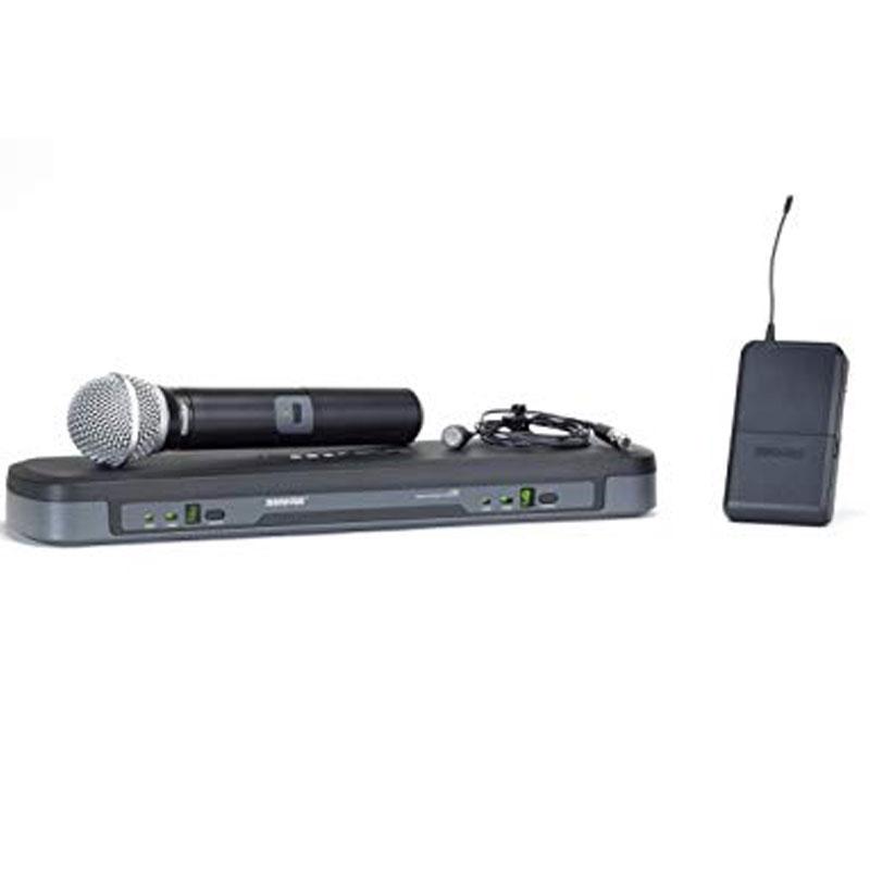 Bộ thu và phát kèm micro không dây cầm tay và cài áo Shure PG1288/PG185