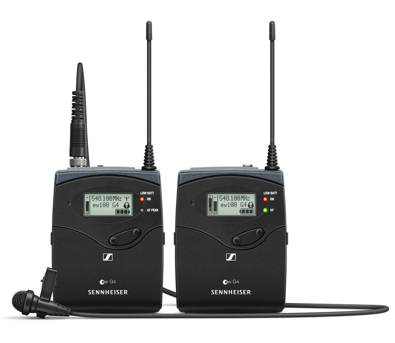 Bộ micro không dây cài ve Sennheiser EW 122P G4-B