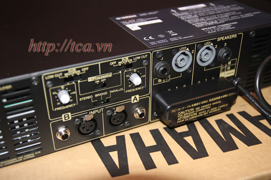 Power Amplifier Yamaha P3500S