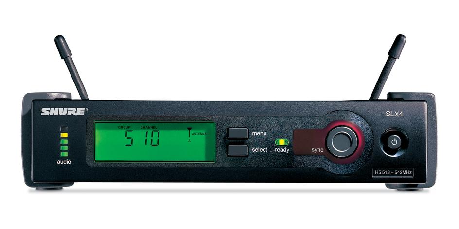 Bộ thu và phát kèm micro không dây cài áo Shure SLX14/85