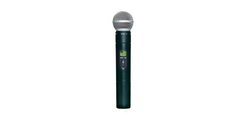 Bộ thu và phát kèm micro không dây cầm tay Shure ULXS24/58