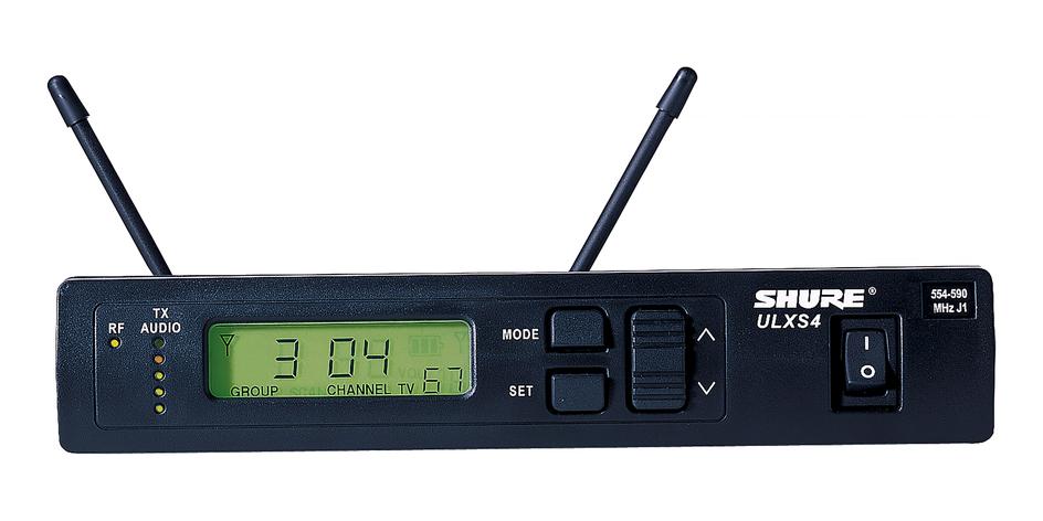 Bộ thu và phát kèm micro cài áo Shure ULXS14/85
