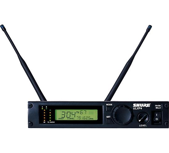 Bộ thu và phát kèm micro không dây cầm tay Shure ULXP24/58