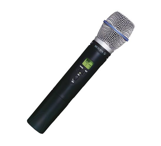 Bộ thu và phát kèm micro không dây cầm tay Shure ULXP24/Beta 87