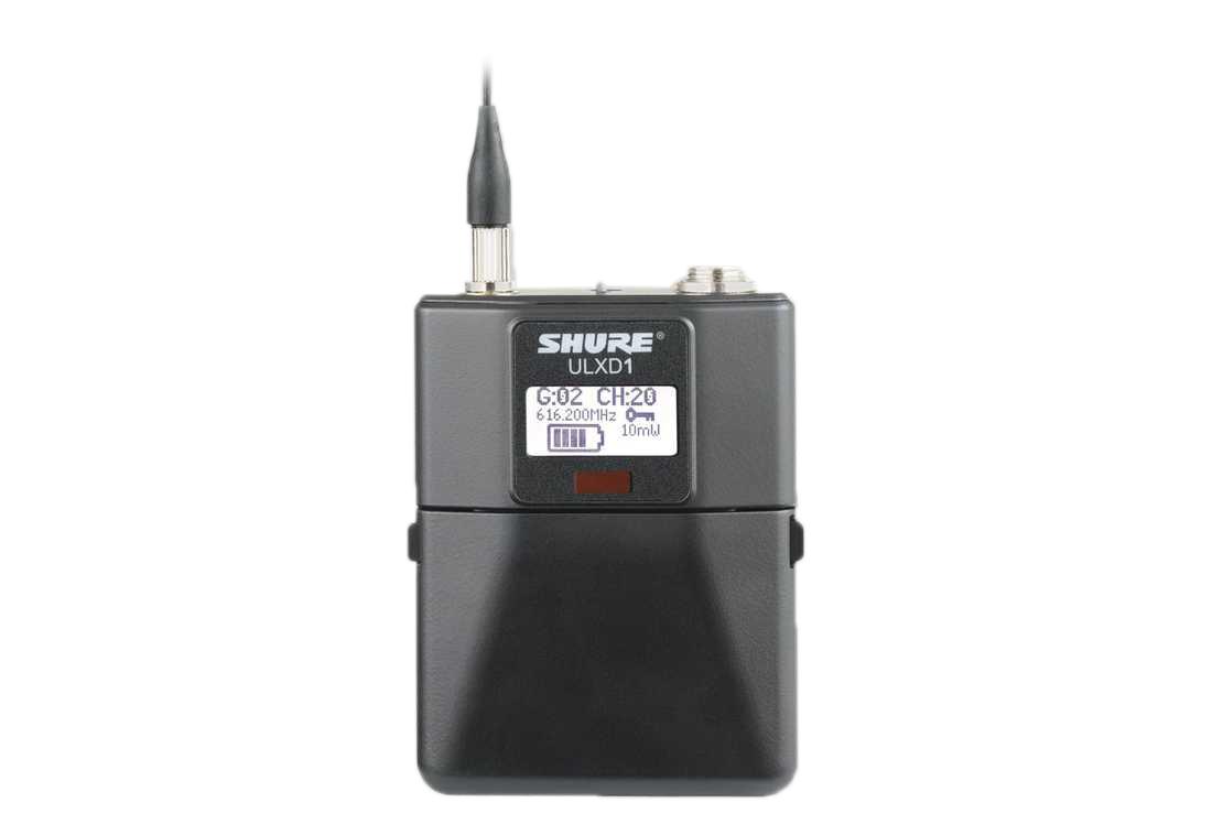 Bộ thu và phát kèm micro cài đầu Shure ULXD14/30