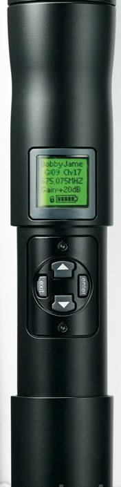 Shure UR2/Beta 58 : Bộ phát micro không dây cầm tay