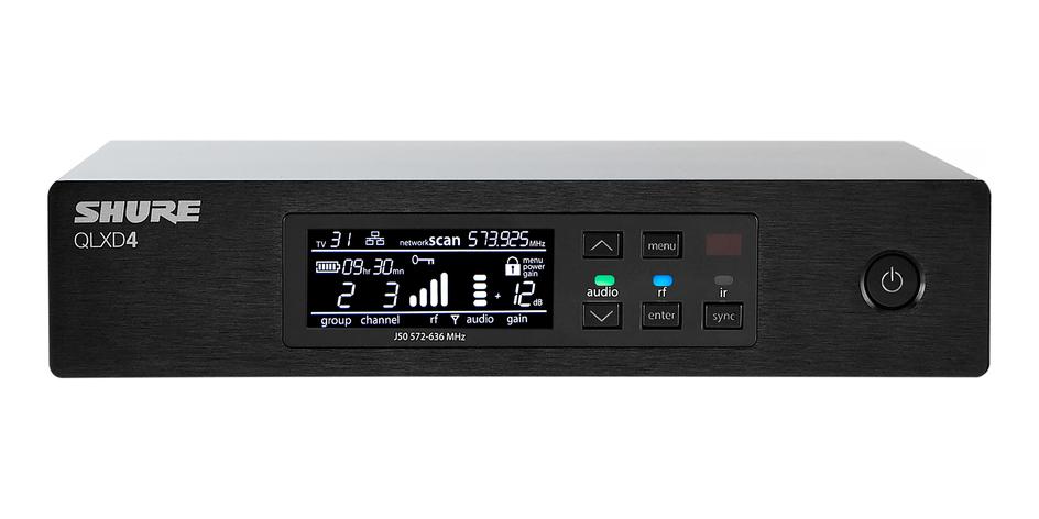 Shure QLXD24A/B58 : Bộ phát kèm micro không dây cầm tay