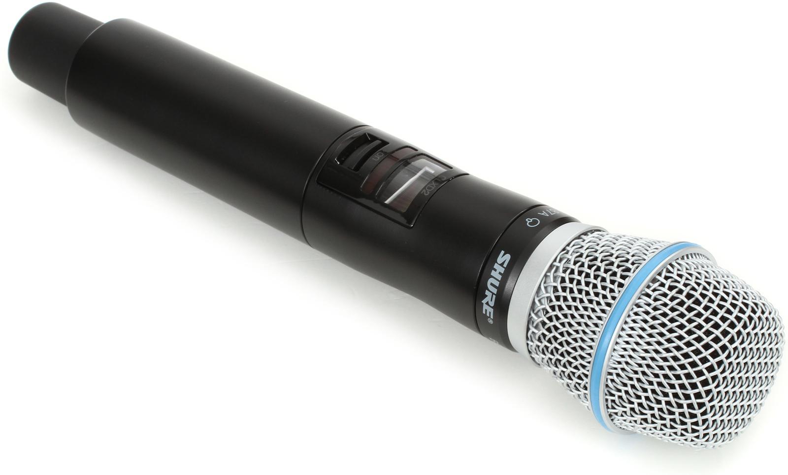 Shure QLXD2/B87 : Bộ phát micro không dây cầm tay