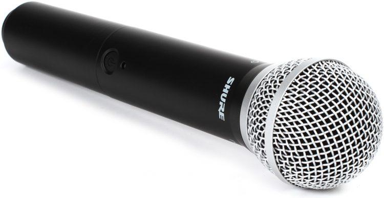 Shure BLX24A/PG58 : Bộ thu và phát kèm micro không dây cầm tay