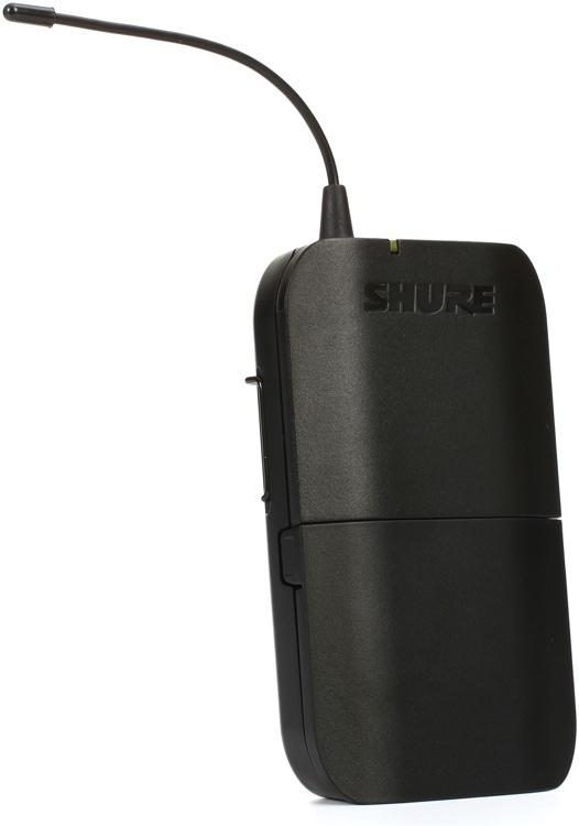 Shure BLX188A/PG85 : Bộ thu và phát đôi kèm micro cài áo
