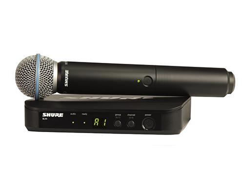 Shure BLX24A/B58 : Bộ thu và phát kèm micro không dây cầm tay