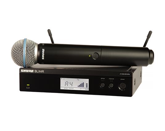 Shure BLX24R/B58 : Bộ thu và phát kèm micro không dây cầm tay