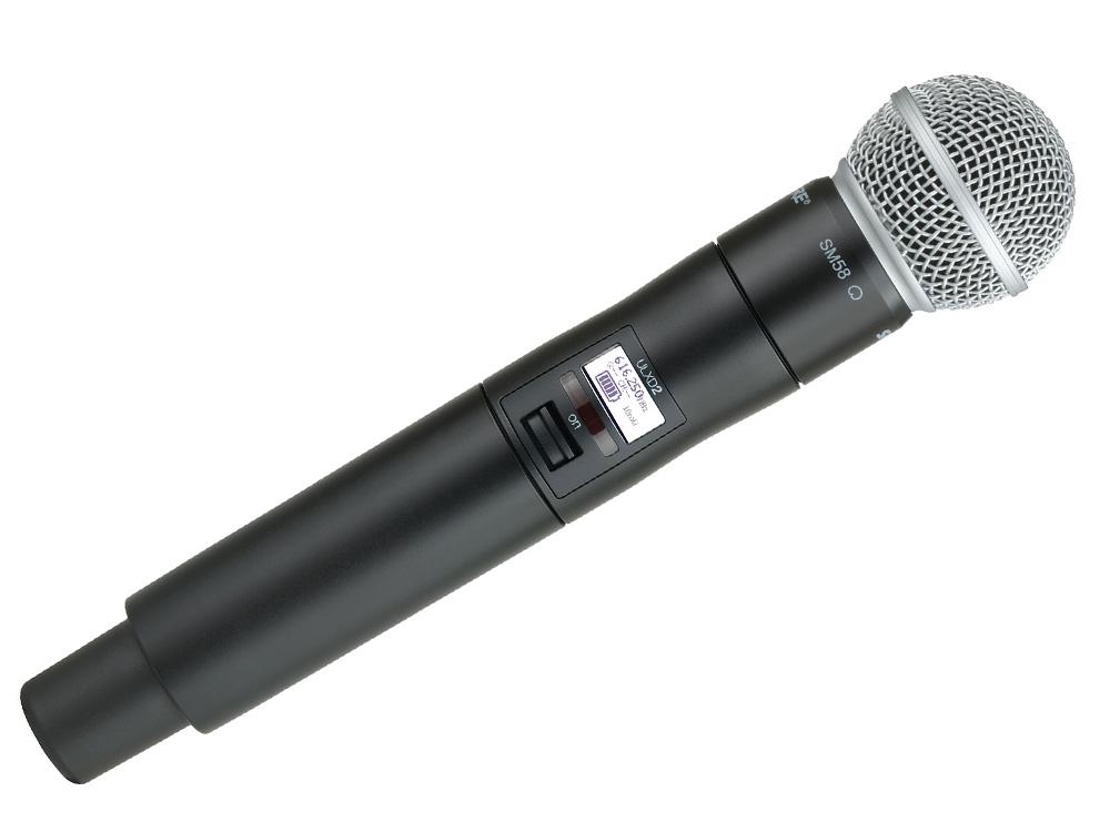 Shure ULXD2/SM58 : Bộ thu kỹ thuật số và phát kèm micro không dây cầm tay