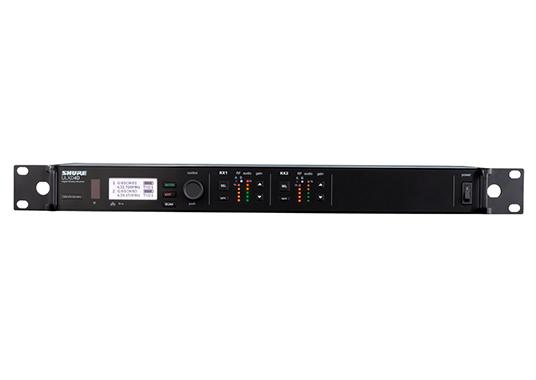 Shure ULXD4D : Bộ thu kỹ thuật số 2 kênh