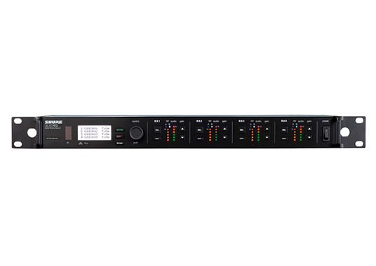 Shure ULXD4Q : Bộ thu kỹ thuật số 4 kênh