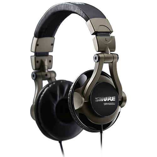 Shure SRH550DJ : Tai nghe chụp đầu dành cho DJ