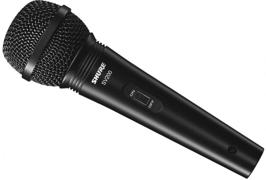 Shure SV200-Q : Micro cầm tay điện động