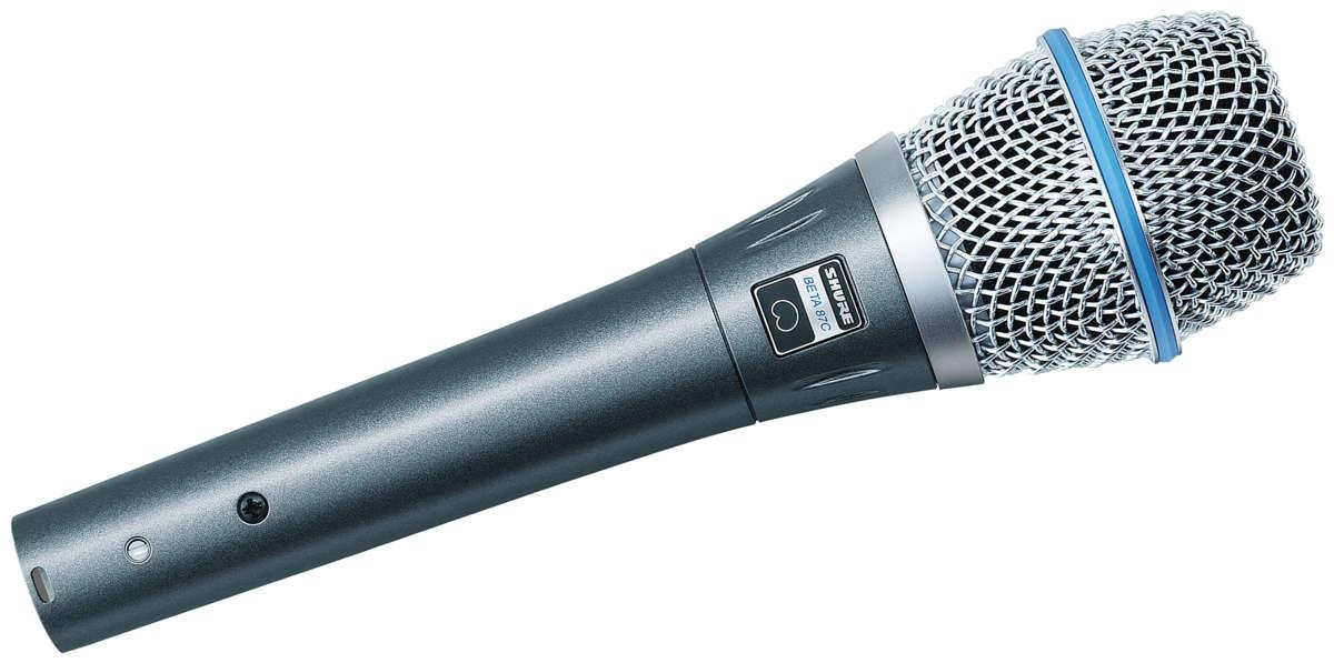 Shure BETA 87C : Micro dành cho ca hát