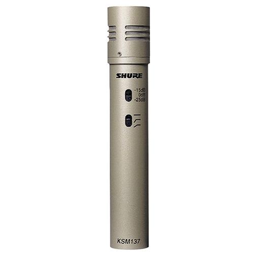 Shure  KSM137/SL : Micro dành cho nhạc cụ