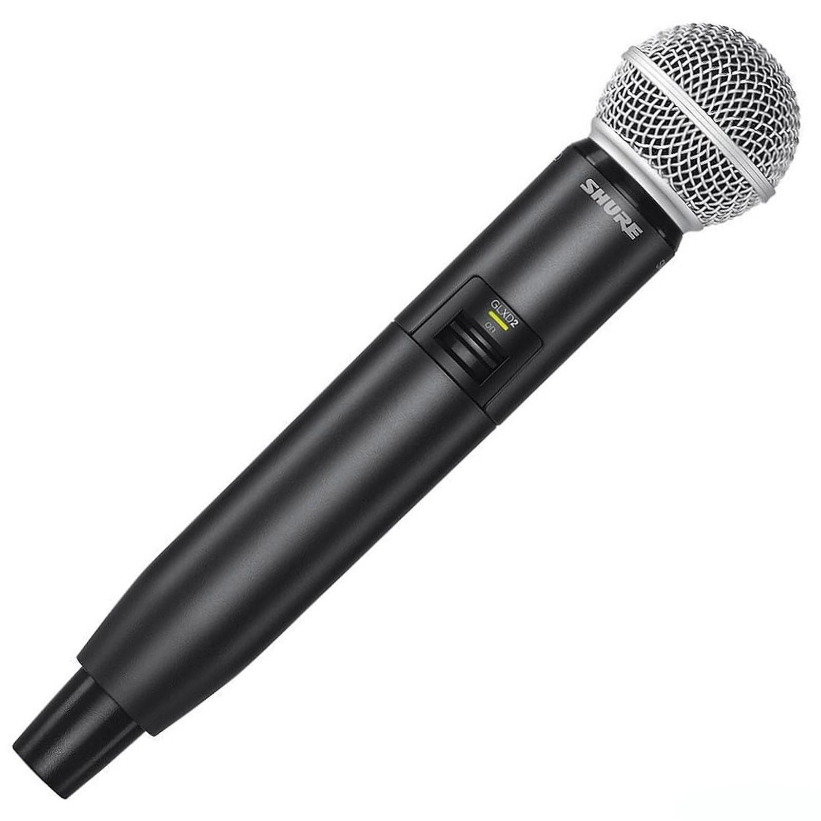 Shure GLXD2/SM58 : Bộ phát kèm micro không dây cầm tay
