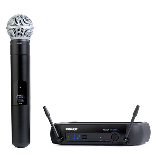 Shure PGXD24/SM58 : Bộ thu và phát kèm micro không dây cầm tay