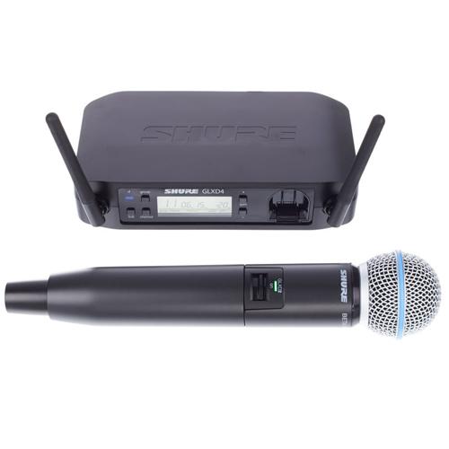 Shure PGX24E/BETA58 : Bộ thu và phát kèm micro không dây cầm tay