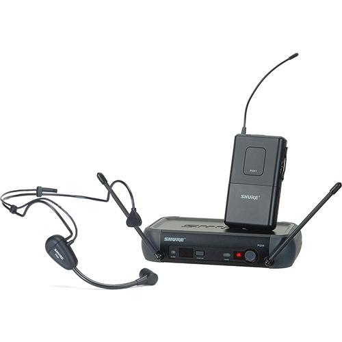 Shure PGX14A/PG30 : Bộ thu và phát kèm micro cài đầu