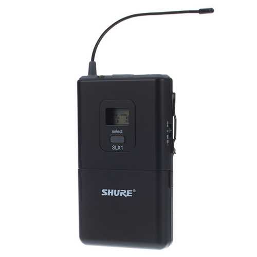 Shure SLX1 : Bộ phát cài lưng