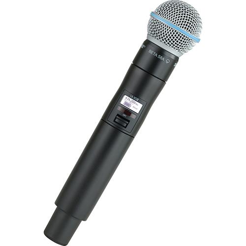 Shure ULXD2/B58 : Bộ phát kèm micro không dây cầm tay