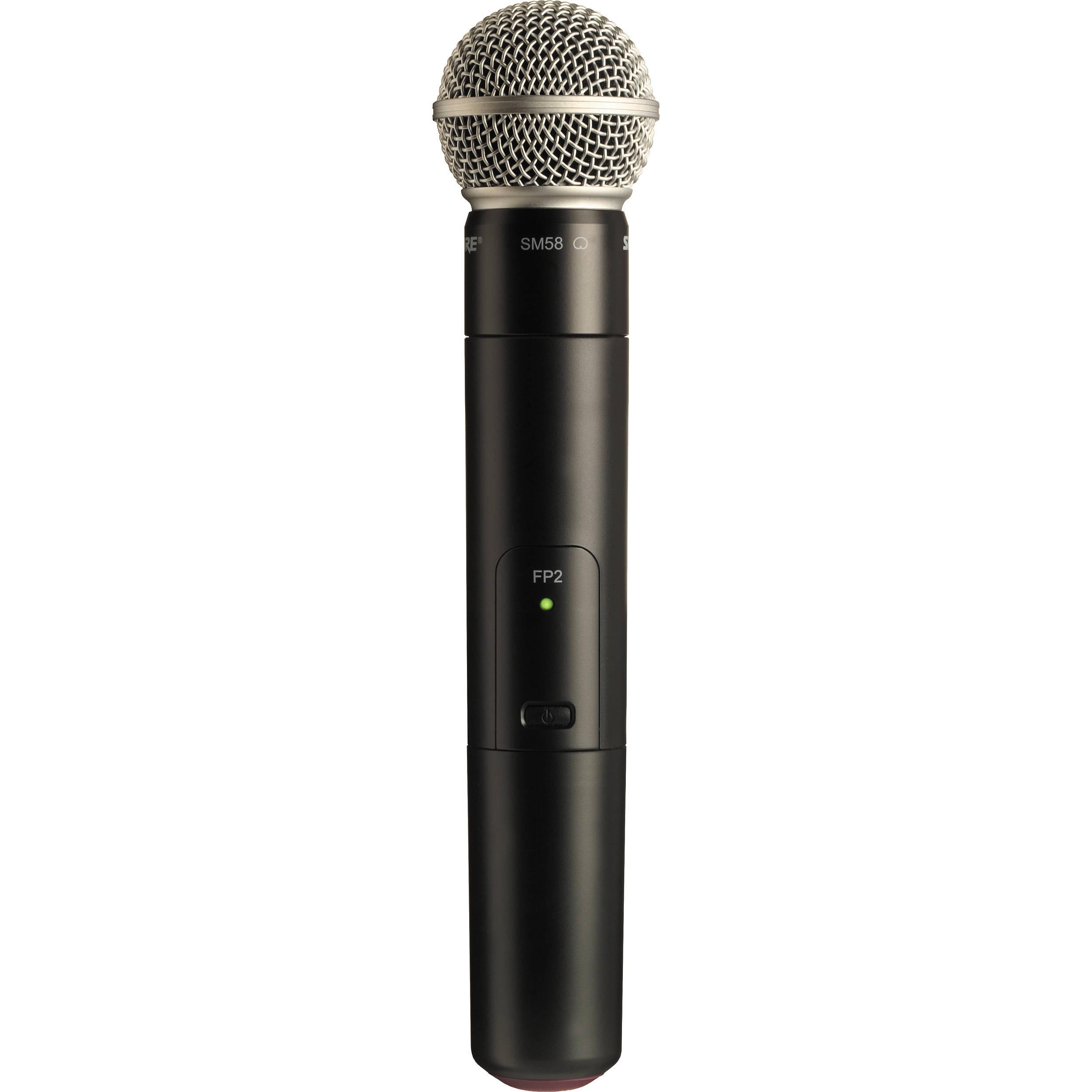 Shure FP2/SM58 : Bộ phát kèm micro không dây cầm tay