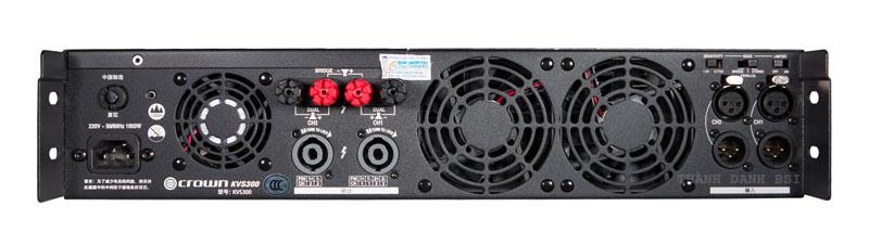 Crown KVS 300 : Cục đẩy công suất
