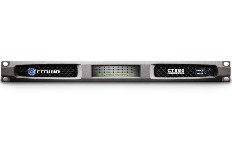 Crown CT 8150 : Bộ khuếch đại công suất 8 kênh