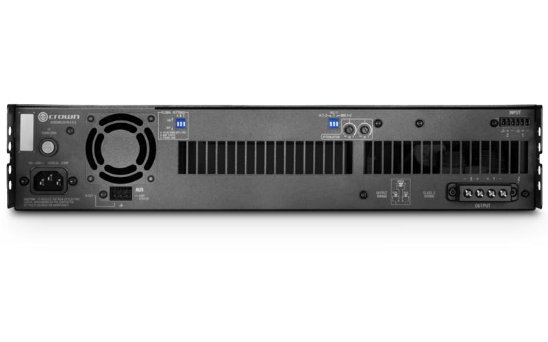 Crown DCi 2 600 : Bộ khuếch đại công suất 2 kênh