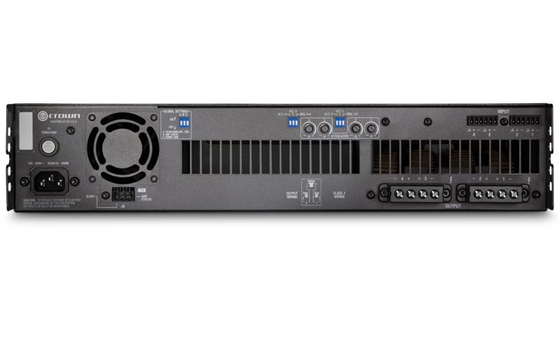 Crown DCi 4|300 : Bộ khuếch đại công suất 4 kênh