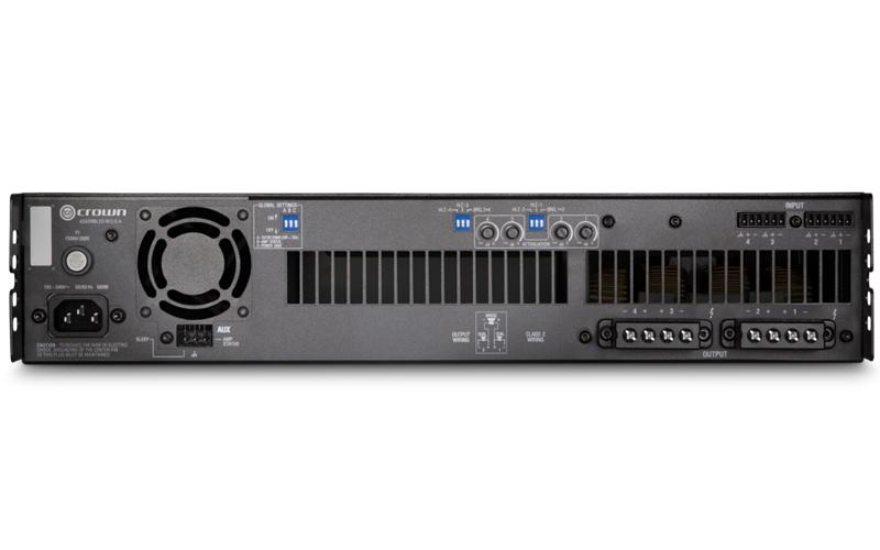 Crown DCi 4|600 : Bộ khuếch đại công suất 4 kênh