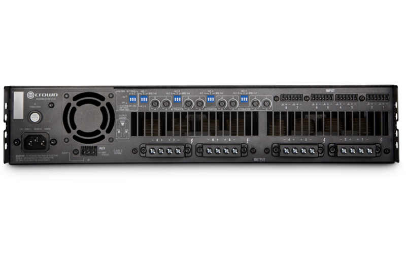 Crown DCi 8|300 : Bộ khuếch đại công suất 8 kênh