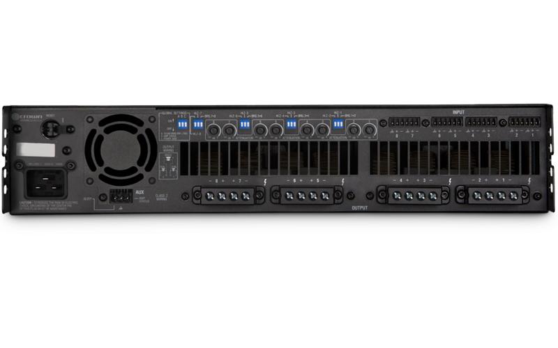 Crown DCi 8|600 : Bộ khuếch đại công suất 8 kênh