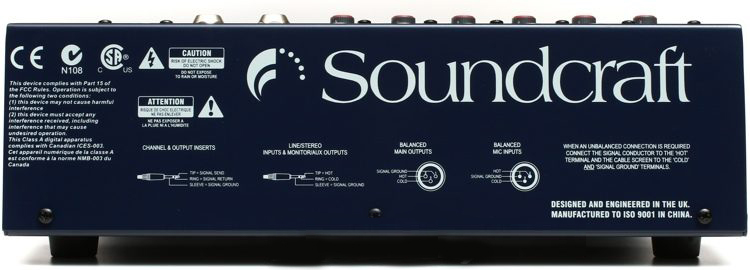 Soundcraft EPM6 : Bàn trộn Mixer