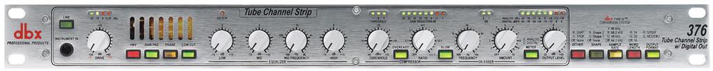 DBX 376 : Bộ xử lý tín hiệu mic