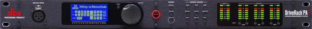 DBX DriveRack PA2  : Bộ xử lý tín hiệu âm thanh