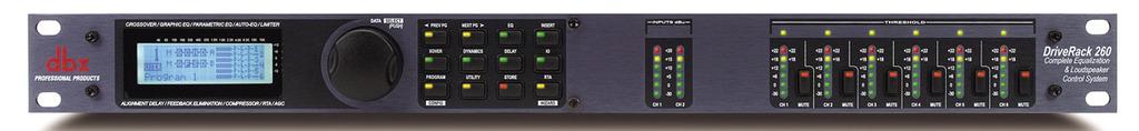 DBX DriveRack 260 : Bộ xử lý tín hiệu