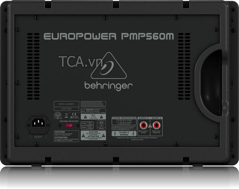 Mixer liền công suất Behringer PMP560M