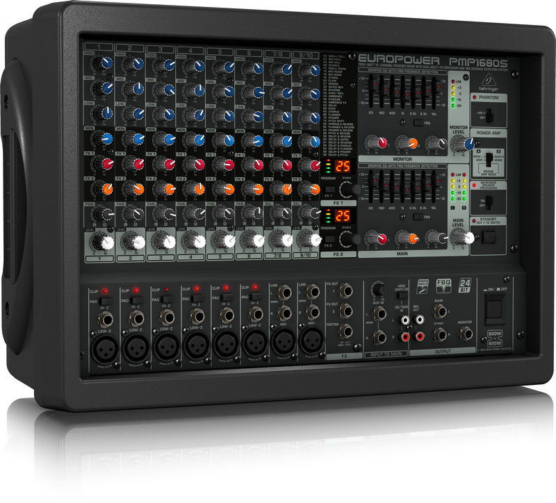 Mixer liền công suất Behringer PMP1680S