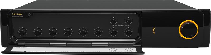 Behringer MA4000M : Ampli liền mixer
