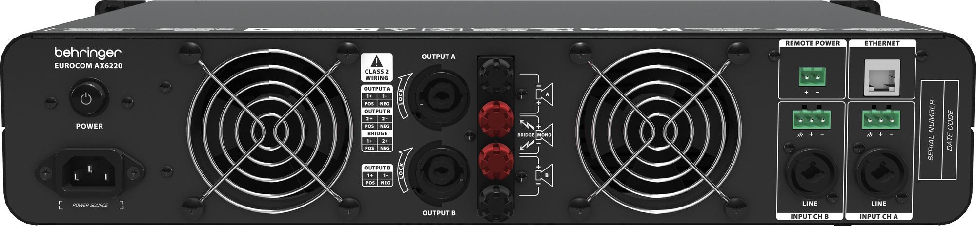 Behringer AX6220 : Ampli liền mixer